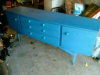 Funky retro side cabinet, side board, tv stand