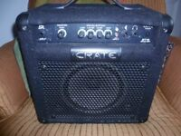 Crate 15 W Bass Guitar Amplifier