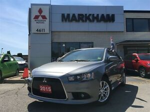 2015 Mitsubishi Lancer SE - All Wheel Control!! - LOW KM!!!