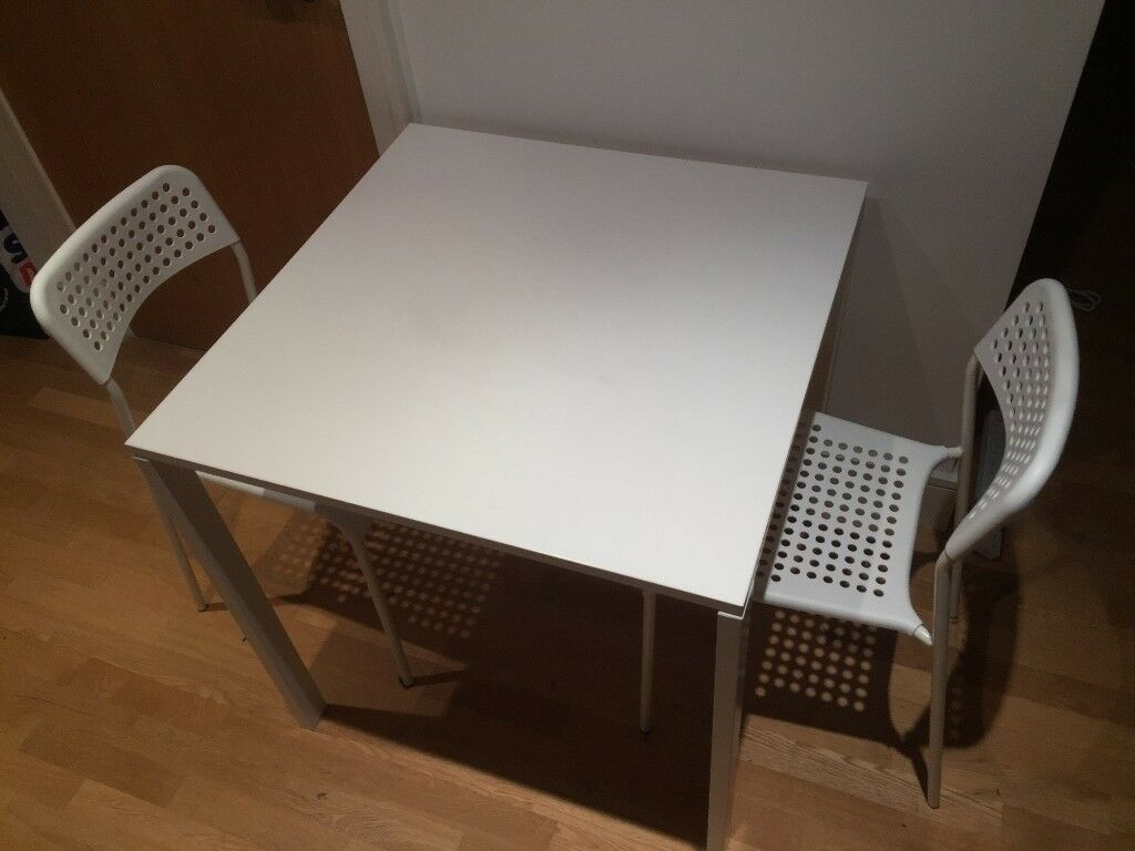 Ikea Dining Set A Table And 2 Chairs Melltorp Table