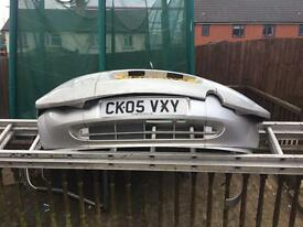 Ford ka silver colour coded bumpers, £10 for pair