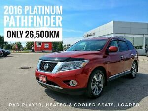 2016 Nissan Pathfinder Platinum Rear DVD  FREE Delivery