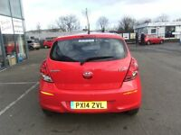 2014 14 HYUNDAI I20 1.2 ACTIVE 3d 84 BHP **** GUARANTEED FINANCE **** PART EX WELCOME ****