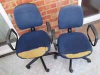 FREE Office Chairs---Ideal for use in garage, shed, workshop.