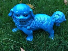 Asian ceramic lion