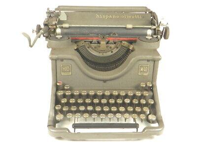 MAQUINA DE ESCRIBIR HISPANO OLIVETTI M40 TYPEWRITER SCHREIBMASCHINE