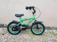 Bike, 14 inch wheels