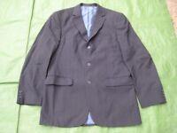Marks and Spencer Dark Navy Blue Woolen Men's Jacket for £5.00