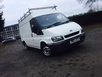 **FORD TRANSIT 2.0tdci **long wheel base **with genuine miles 100***