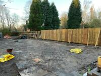 Fencing and digger hire with driver