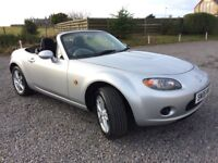 MAZDA MX5 2.0 ROADSTER CONVERTIBLE FSH BY MAZDA LOW MILEAGE 38K LONG MOT PX WELCOME