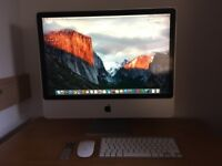 Apple IMac 24-inch with (250GB SSD) original apple wireless mouse,keyboard,remote (ONO)