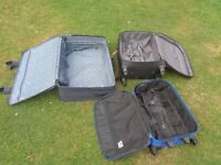 Suitcases Suit Case Wheely Cases Luggage Baggage