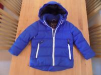 AGE 3 - THICK WINTER JACKET FROM NEXT - GREAT CONDITION.