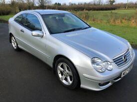 2007 Mercedes C-Class Sport KOMPRESSOR SE AUTO FMBSH 1yrs Mot 6mth warranty