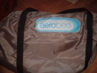 AERO BED ( only available till Fri 15th ) 12 noon