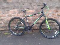 Boss Blade Mens 26 Inch Wheel Light Weight Alloy HT Mountain Bike - RRP £260