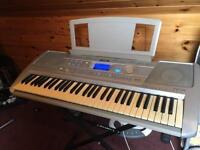 Yamaha Keyboard& Stand