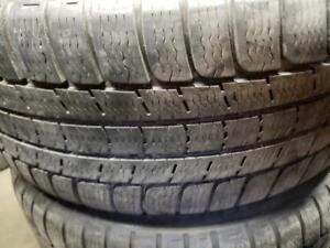 2 winter tires Michelin pilot alpin pa2 runflat zp 225/50r17 tt
