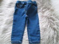 BABY GIRLS JEGGINGS/JEANS X2 - 3-6 MONTHS / 9-12 MONTHS - NEXT - £1.50 EACH - GC