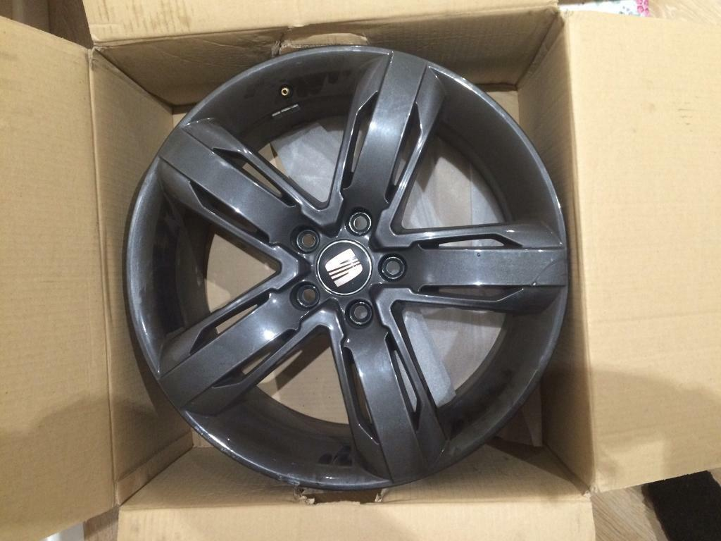 "Seat Leon alloy wheels 18"""