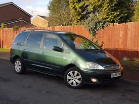 ***55 REG FORD GALAXY TDI ZETEC 1.9 DIESEL**AUTOMATIC**7 SEATER.LONG MOT GOOD RUNNER PX WELCOME***