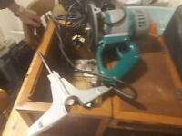 Makita Router and trimmer 240V
