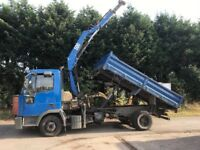 Ford iveco ihab tipper 7.5 tone