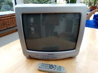 Small old-style TV
