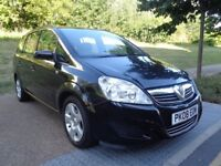 2008 VAUXHALL ZAFIRA AUTOMATIC DIESEL 7 SEATER, LOW MILES, GOOD RUNER, 3 MONT...