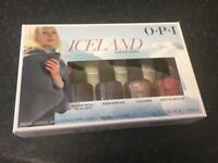 O.P.I nail varnish set