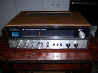 TECHNICS QUADRAPHONIC AMPLIFIER TUNER SA5400X RARE IN GREAT CONDITION WITH ORIGINAL BOX AND MANUAL