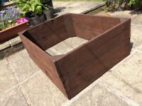 300 mm High Gravel Board Raised Planting Bed for sale - bargain £ 30