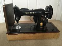 Lovely vintage Singer Electric Sewing Machine Model 99k (not working)