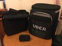 2 Uber food bags