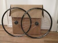 Road bike wheelset - Alex rims with Shimano hubs - As New