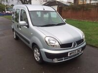 Renault Kangoo 1.6 16v Expression 5dr Automatic , 6 MONTHS FREE WARRANTY