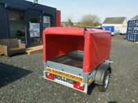 BRAND NEW MODEL 5X4 TRAILER WITH FRAME AND 80CM COVER