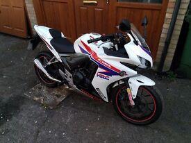 Honda CBR500R ABS, 9678 Miles! New MOT! Lovely bike. A2