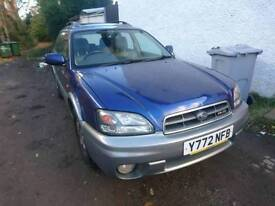 Subaru Outback 3.0 H6 estate (for spares only - engine removed)