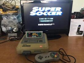 Snes Super Nintendo console & game