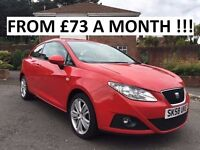 2008 SEAT IBIZA SPORT 1.4 SE ** FINANCE AVAILABLE ** LOW MILES ** ALL CARDS ACCEPTED