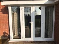 Corner/porch 5 pane patio French doors
