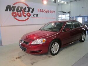 2011 Chevrolet Impala LT + AIR BI-ZONE +BLUETOOTH_ ELECTRIQUE+MA