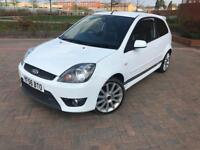 2006/56 FORD FIESTA ST 2.0 WHITE UPGRADED SS EXHAUST LOW MILEAGE LONG MOT
