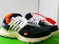 Nike Air Presto x Off White Stunning Trainers Shoes UK 8.5 & UK7.5