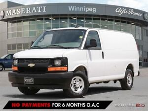 2017 CHEVROLET EXPRESS 2500: NO ACCIDENTS, LOCAL VEHICLE, ONE OW