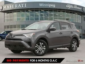 2017 Toyota RAV4 LE: Heated Seating and Rear View Camera!