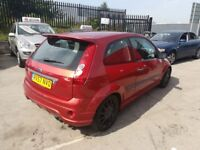 Ford FIESTA Style,1242 cc 3 door hatchback,Wolf body kit,lowered,twin back box,black alloys,only 52k