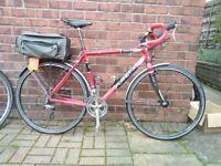 road bike touring gravel style CX plus wheels planet x unlce john